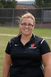 Head Trainer Sara Reuscher