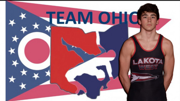 Lakota West Wrestling: Joey Bradberry and Team Ohio Finished 7th at National Wrestling Tournament!