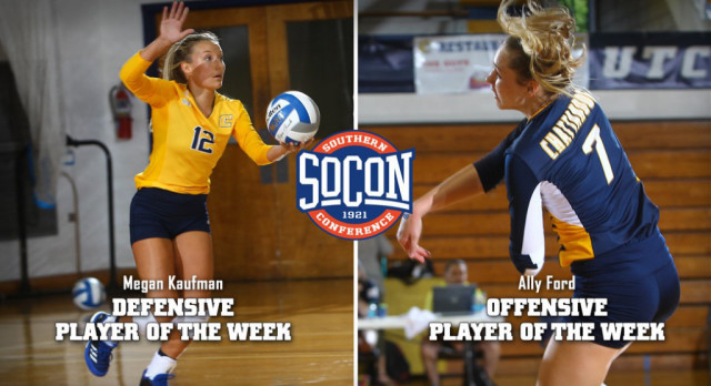Lakota West Volleyball Alum: Megan Kaufman Named SoCon Player of the Week!