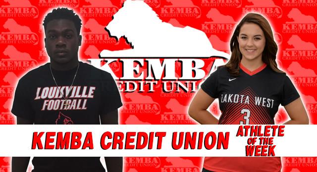 Kemba Credit Union Athletes of the Week 8/28/17 – 9/3/17