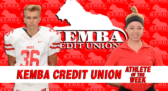 Kemba Credit Union Athletes of the Week 9/25/17 – 10/1/17