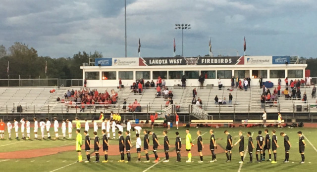 Lakota West Boys Soccer Beats East In Soccer Scoring Barrage!