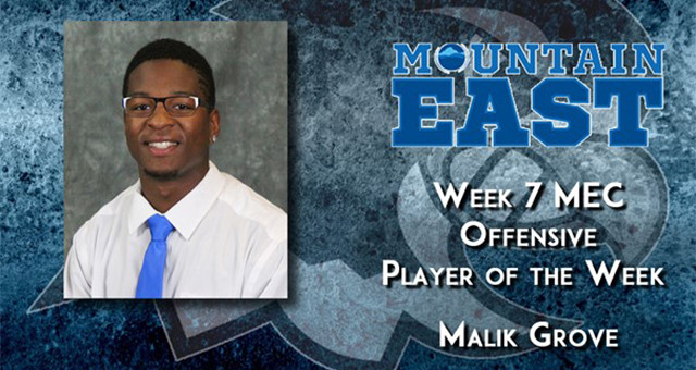 Lakota West Football Alum: Malik Grove Named MEC Player of the Week!