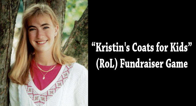 ATTENTION FIREBIRD NATION: Kristin's Coats for Kids (RoL) Fundraiser Game on Nov.21st!