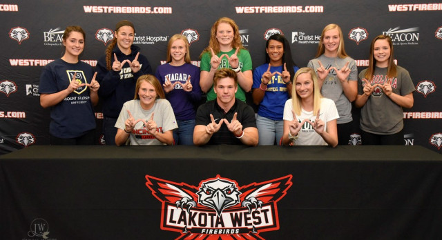 Ten Lakota West Student-Athletes Sign at Fall Early Signing Ceremony (Photos)