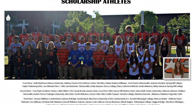 2015 Scholarship Athletes