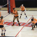 Hoover Freshmen Volleyball Sweeps Tri-match at Homewood
