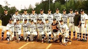 2015 Graduating Baseball Class on Senior Night