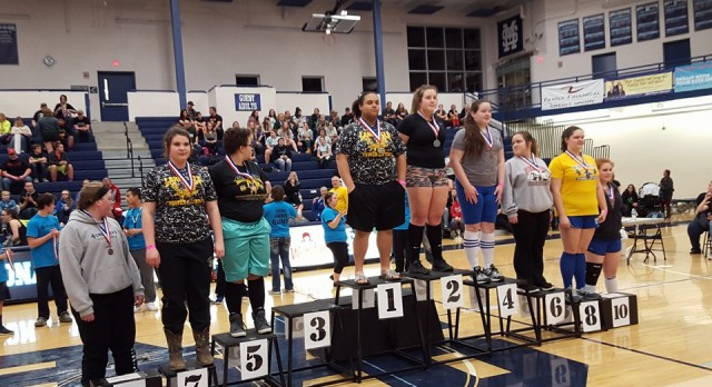 State Power-lifting Results