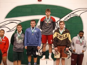 Trevor Struemph 4th place in his weight class.