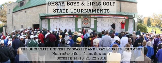 Girls Golf @ State Tournament