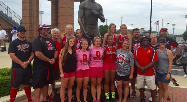 Track: Girls finish 7th in the State!