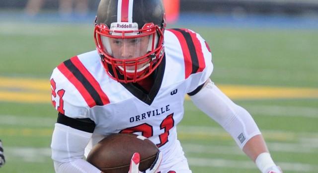 Orrville Football Dominates CVCA 48-14