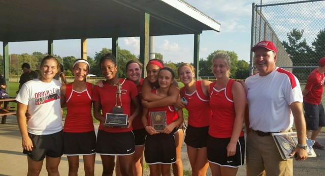Orrville Girl's Tennis Wins The NET Conference Title In A Thriller