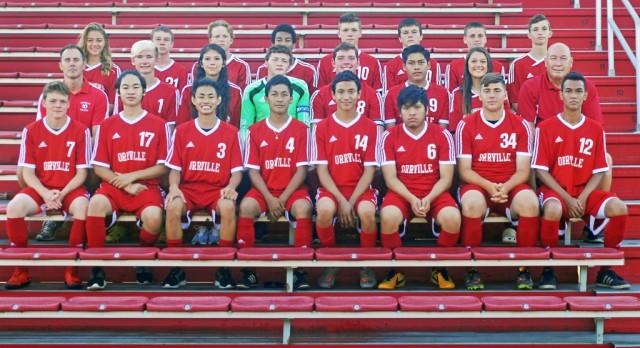 Orrville High School Boys Varsity Soccer beat Tuslaw High School 7-2