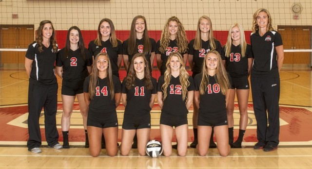 Orrville High School Girls Varsity Volleyball falls to Indian Valley High School 3-1