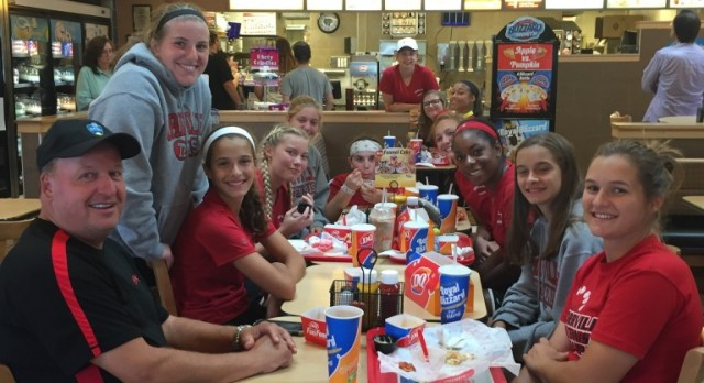 Orrville Girl's Tennis Team Competes At Sectional Tournament In Canton