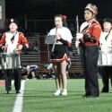 Band and Little Cheerleaders at Football game