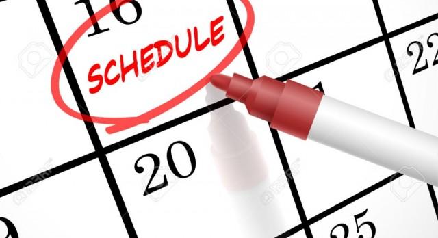Updates in Winter Schedules