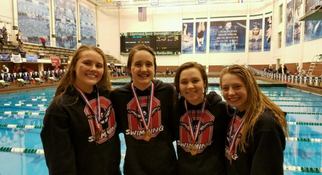 Orrville Sends Four Girls to State Swim Competition