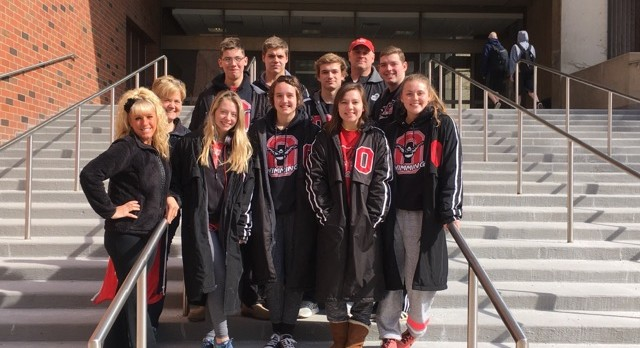 Orrville Swimmers Compete at Districts