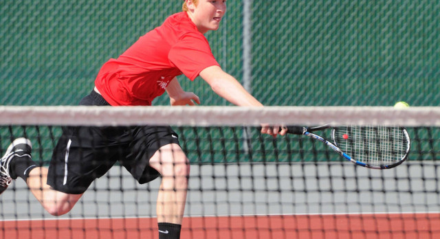 Boy's Tennis Team Competes In Sectional Tourney- Dilyards On To Districts