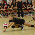 Lady Riders defeat Northwest 3-0 in Volleyball