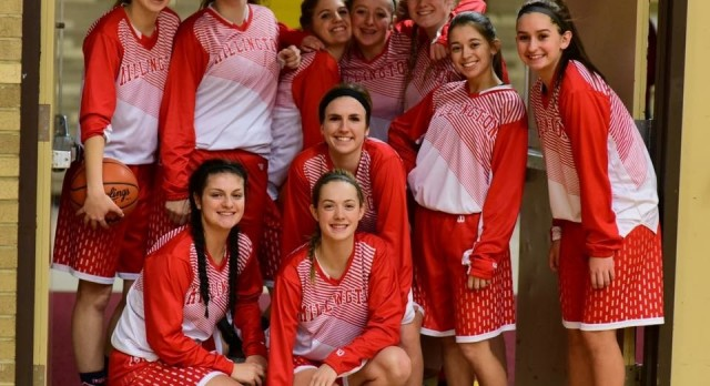 Millington High School Girls Varsity Basketball beat Bridgeport High School 81-40