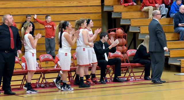 Millington High School Girls Varsity Basketball beat North Branch Area High School 64-23