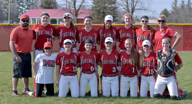 Millington High School Varsity Softball beat Cass City High School 2-0