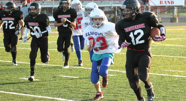 Jr High Football Takes Two from Elwood