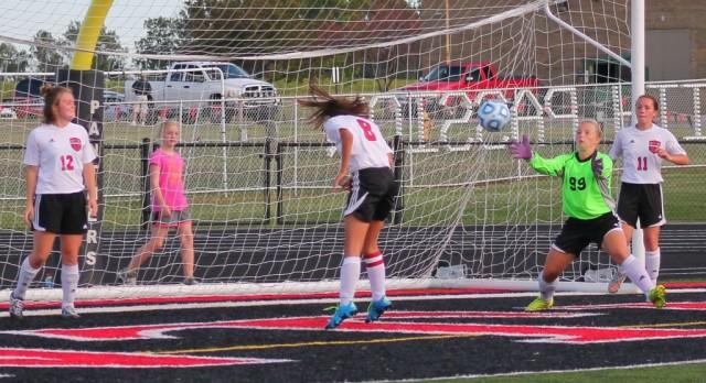 Girls Soccer Honors 5 on Senior Night