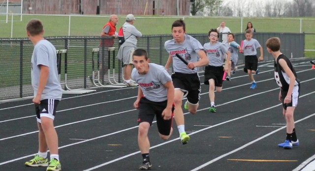Jr. High Track Races to Early Season Wins
