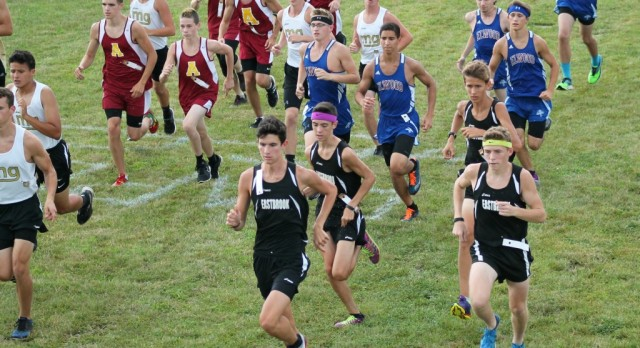 Boys XC Defends Title to Open Season