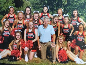 2016 Football Cheerleaders 2