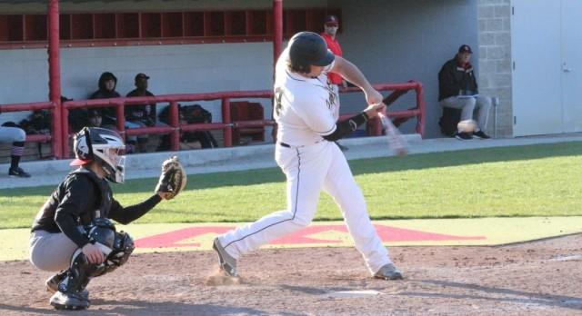 Delphi Community High School Varsity Baseball beat Twin Lakes High School 5-4