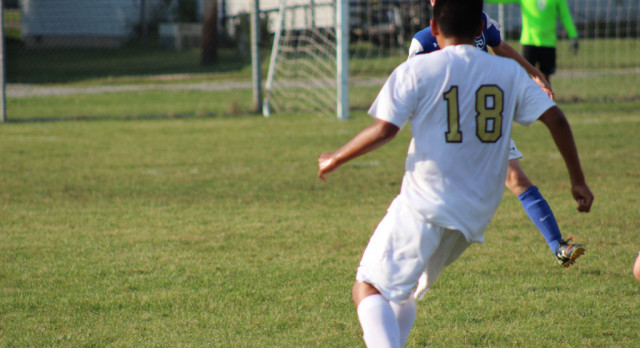 Boys' Soccer Team Takes On Carroll