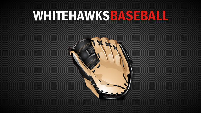 White Hawks Nine Split to Start Final Week