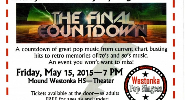 Pop Singers Present 'Final Countdown'