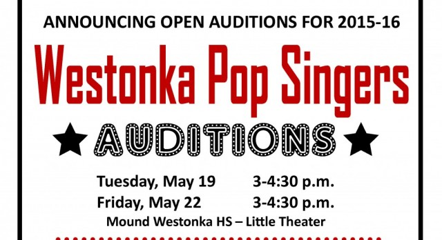 Join the Westonka Pop Singers