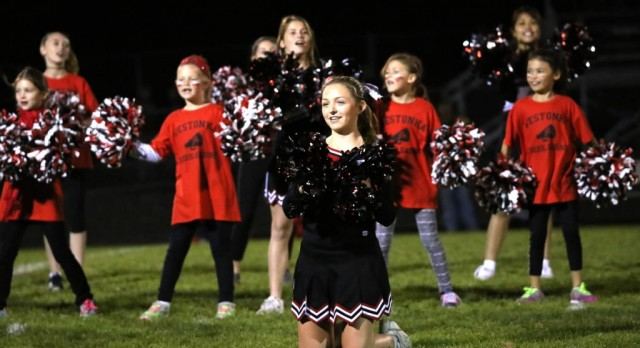 Cheerleaders Serve as Spirit Ambassadors