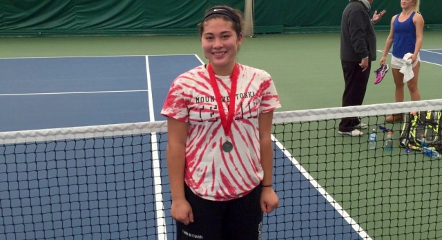 Welty Heads to State in Girls Tennis Singles