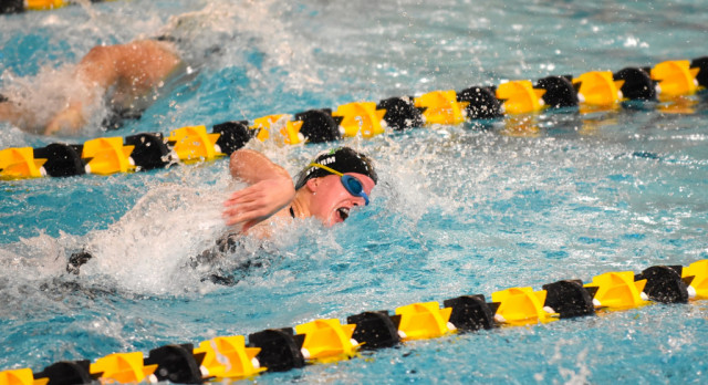 Swim & Dive Sends Seven to Section Finals, One to State