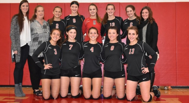 Volleyball Falls to Concordia Academy in Section Playoffs