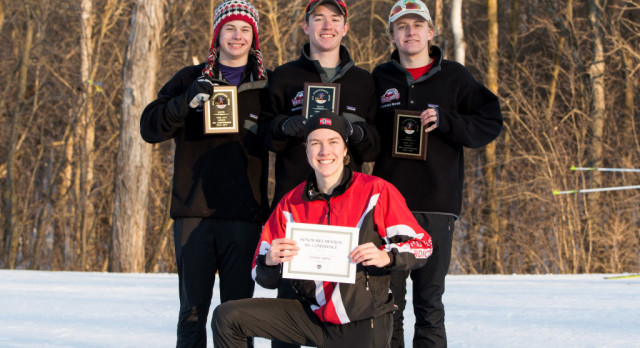 Nordic Boys Place Second in Conference