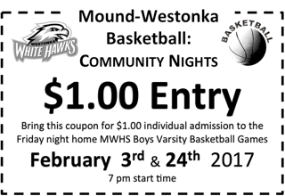 Boys Basketball to Host 'Community Nights'