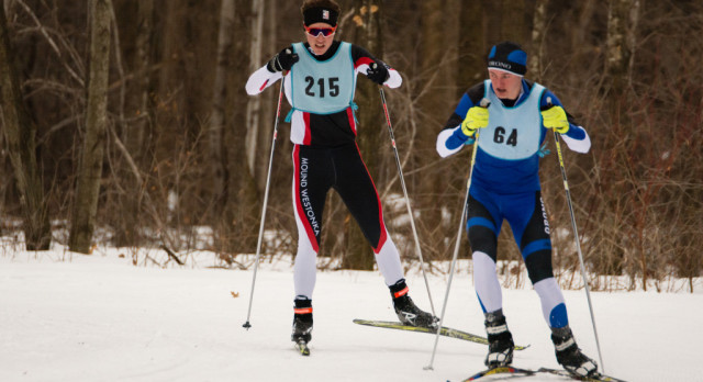 Three Skiers Place in Top 5 at Baker Park Reserve