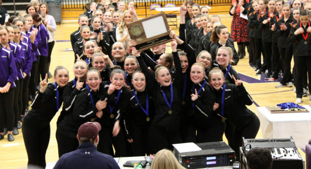 Hawkettes Headed Back to State in Jazz, Kick
