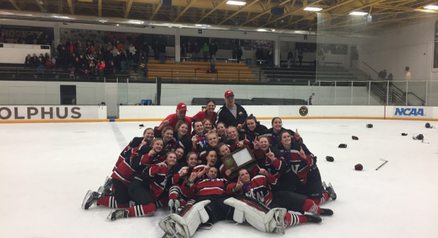 White Hawks to Face Northfield in State Hockey