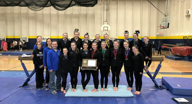 Girls Gymnastics Heads to State